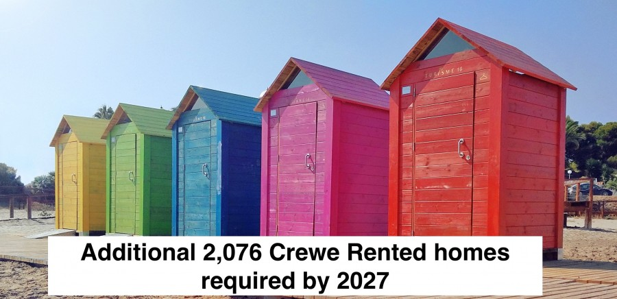 Blog Photo - Additional 2,076 Crewe rented homes required by 2027