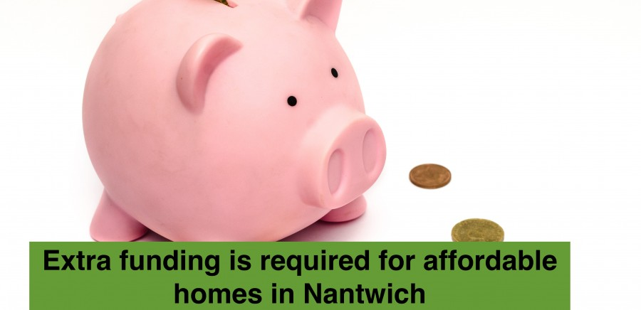 Blog Photo - Extra funding is required for affordable homes in Nantwich
