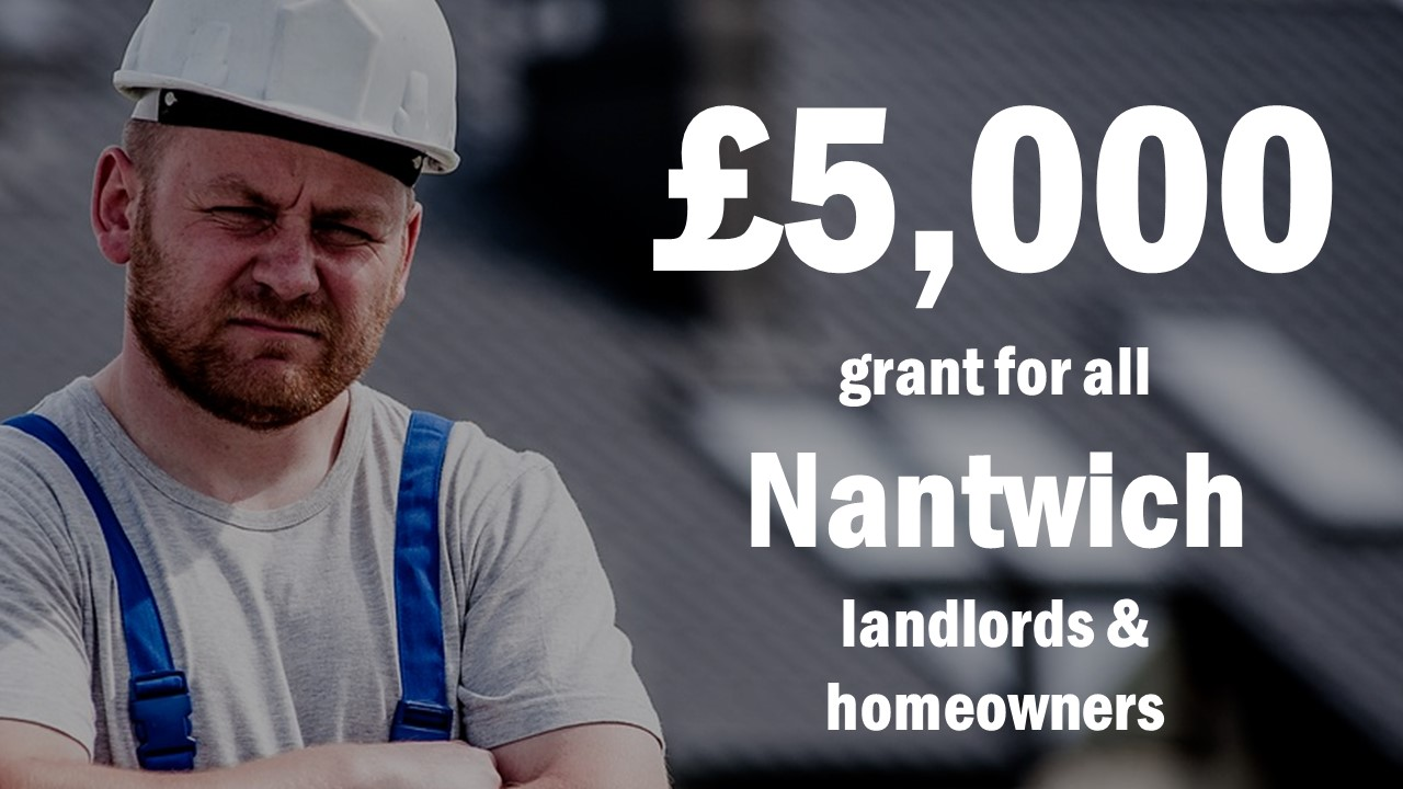 £5,000 grant for Nantwich Landlords
