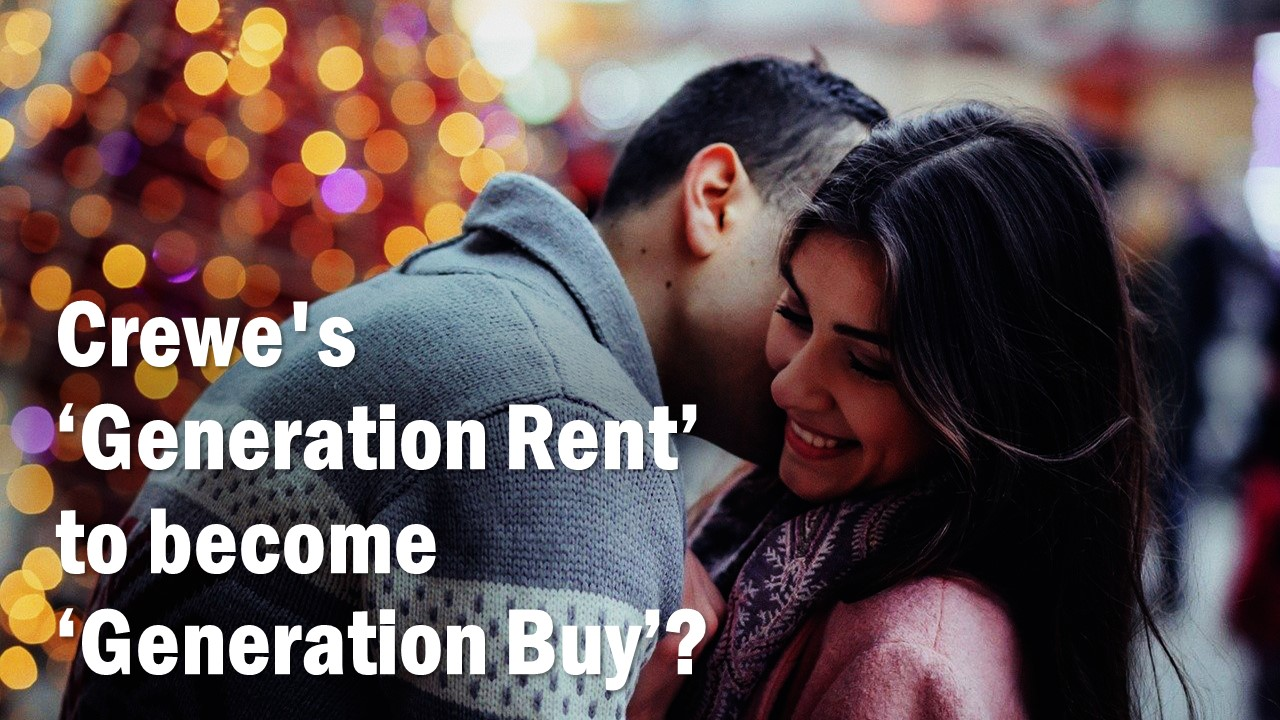 Crewe's generation rent to become generation buy